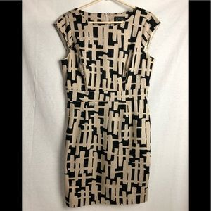 Tahari Arthur S. Levine shift dress